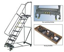M-2000 ROLLING SAFETY LADDERS